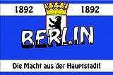 Berlin Silhouette Fahne Flagge Grösse 1,50 x 0,90m