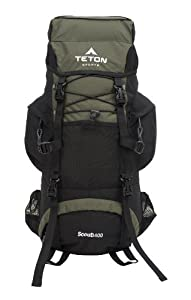 Teton Sports Scout 3400 Internal Frame Backpack (Hunter Green)