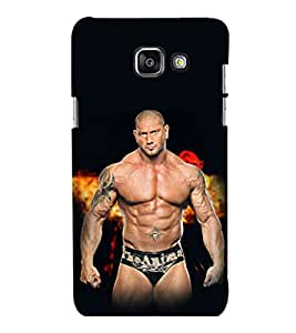 printtech Wwe Batista The Animal Back Case Cover for Samsung Galaxy A3 2016 Edition