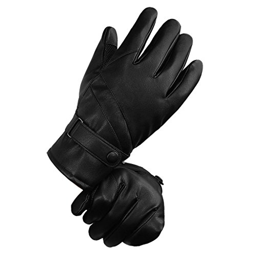 Top Best 5 winter gloves men waterproof for sale 2016