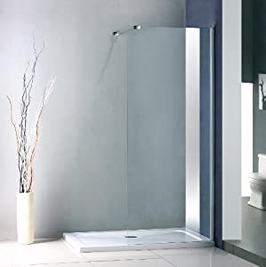 elite showers walk in duschkabine mit niedriger duschwanne mx profil 130 x 70 cm. Black Bedroom Furniture Sets. Home Design Ideas