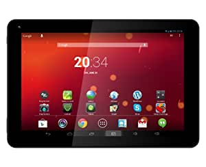 """DJC Touchtab4 Tablette Tactile PC 8"""" (19,9cm) - IPS tactile (1024x768) - Android 4.2 Jelly Bean - Quad-core processeur 1,6GHz - 1GB RAM - 8GB capacité - Bâti à de devant (0.3MP) et arrière (2MP) caméras"""