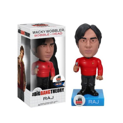 Funko Star Trek Big Bang Theory: Raj Wacky Wobbler - 1