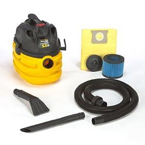 Shop-Vac 5872410 5.5-Peak Horsepower Portable Contractor Right Stuff Wet/Dry Vacuum, 5-Gallon from Shop-Vac