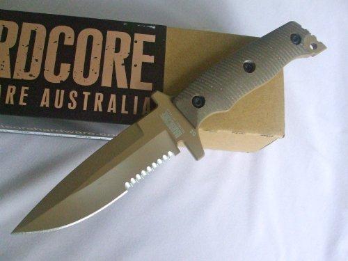 Hardcore Hardware Australia Mfk03-Gvh Dgc Tan Finish Tactical Fighting Survival Knife