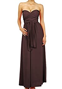 LeggingsQueen Infinity Style Multi Wrap Convertible Long Dress
