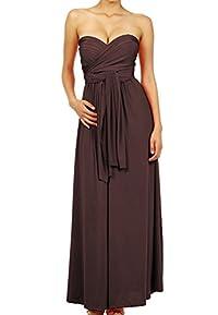 LeggingsQueen Infinity Style Multi Wrap Convertible Long Dress