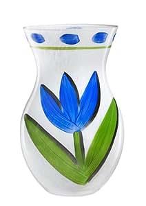 Kosta Boda Tulipa Vase, Blue