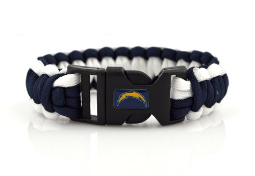 NFL San Diego Chargers Survival Cord Bracelet at Amazon.com