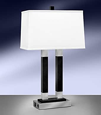 Beautiful 20 Inch H Country Bungalow 2 Lt Desk Lamp Table Lamps   Amazoncom