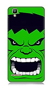 Oppo F1 3Dimensional High Quality Designer Back Cover by 7C