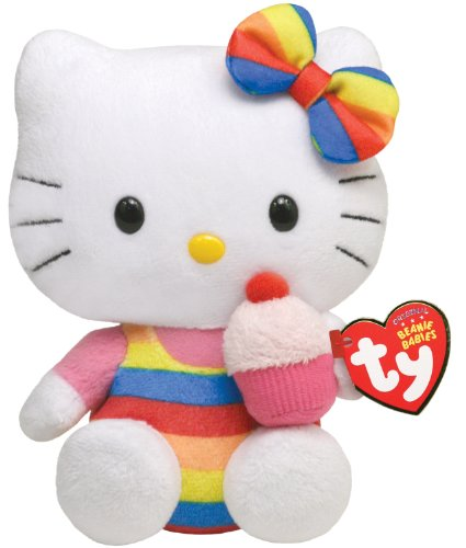 Peluche Hello Kitty Cupcake - 15cm