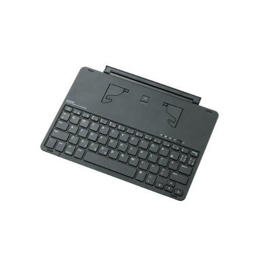 エレコム ワイヤレスキーボード Bluetooth iPad Air9.7用カバー型 オートスリープ対応 シルバー TK-FBP068ISV