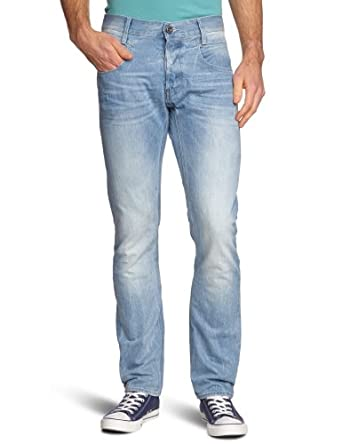 G-star - Jean - Skinny/Slim - Homme - Bleu (Lt Aged 424) - FR : 28W/32L (Taille fabricant : 28/32)