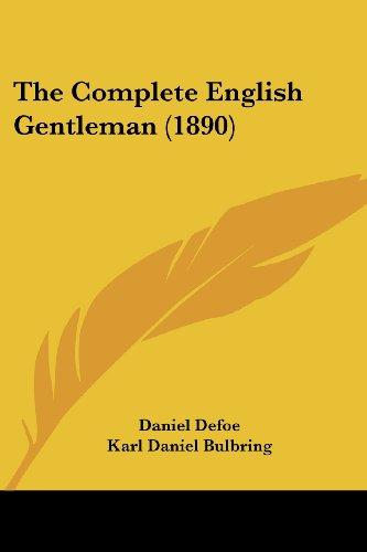 The Complete English Gentleman (1890)