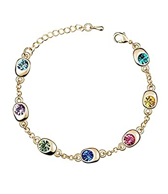 Celebrity Jewelry Lucky Waltz Fashion Swarovski Elements Austrian Crystal Bracelet for Women Gift