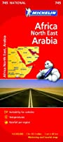 Africa North East, Arabia NATIONAL Map (Michelin National Maps)