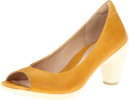 Ecco ECCO SCULPTURED 65 SANDAL Pumps Womens Yellow Gelb (Saffron 02103) Size: 8 (42 EU)