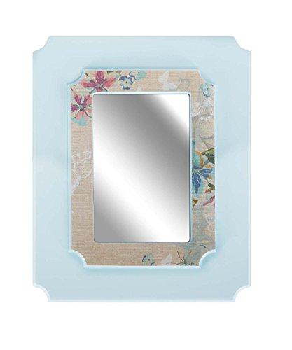 C.R. Gibson Framed Mirror, Nature Walk