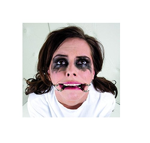 NEW! Asylum Hook Claw Adjustable Mouth Spreader Medical Patient ~ Costume (1.8 Inches Claw, White) (Madeline Costume For Adults)