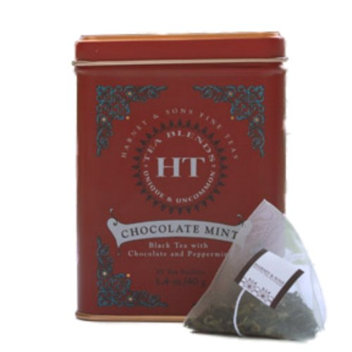 Chocolate Mint Tea - 20 ct Sachets in Tin - by Harney & Sons