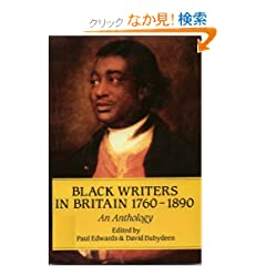 Black Writers In Britain (Early Black Writers)