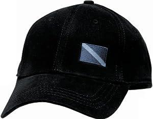 New I-Flex Fitted Design Scuba Diving Cap (Small/Medium) - Black/FBM