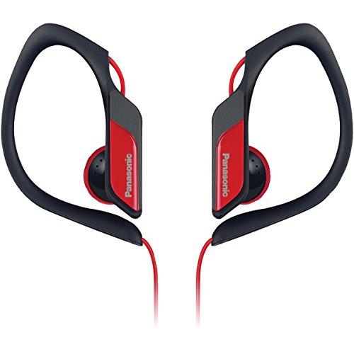 Panasonic - Headphones Rp-Hs34-R Hs34 Water/Sweat Resistant