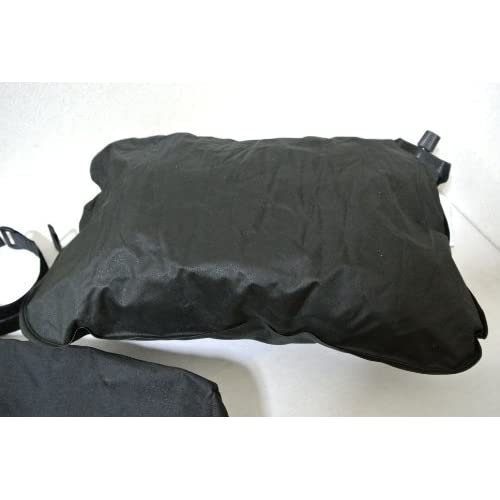 マイ枕! トラベル ピロー エアー ピロー 小さく 収納 袋付き (ブラック)