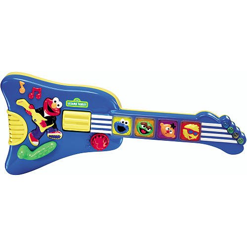 Sesame Street Elmo's Rock & Roll Guitar - 1