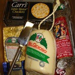 Gourmet Wisconsin Cheese Sampler Gift Set