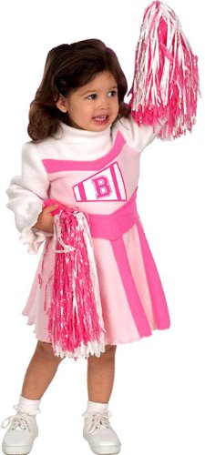 Toddler Barbie Cheerleader Costume