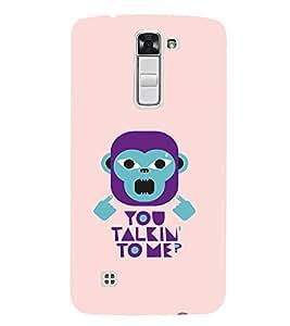 EPICCASE Money Talking Mobile Back Case Cover For LG K7 (Designer Case)