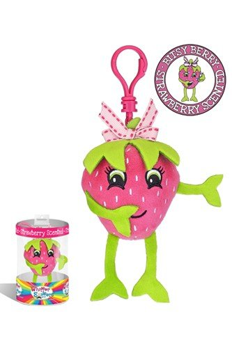 "Whiffer Sniffers Bitsy Berry Collectible 4"" Backpack Clip"