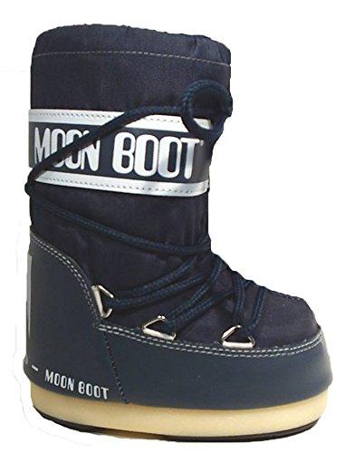 Damen Kinder Moonboots Moon Boot Boots Tecnica Stiefel jeans blau jetzt kaufen