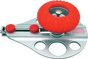 NT Cutter Aluminum Die-Cast Body Heavy-Duty Circle Cutter, 1-3/16 Inches 10-1/4 Inches Diameter, 1 Cutter (C-3000GP)
