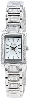 Caravelle by Bulova Womens 43L010 Crystal Accented White
