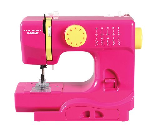 Janome Fast Lane Fuchsia Portable Sewing Machine