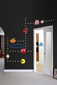 Blik Pac-Man Ghost Wall Decals