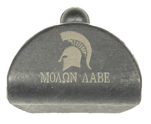Sure Plug 1 Laser Engraved Molon Labe Spartan Helmet - Designed For Gen 1-3 Glock Models 17,18,19,20,21,22,23,24,25,31,32,34,35, 37,38