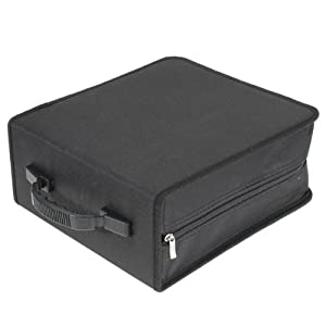 classeur rangement boite pochette etui range 320 cd dvd sac sacoche bricolage. Black Bedroom Furniture Sets. Home Design Ideas