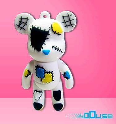4GB Novelty Cartoon Cute Poor Bear USB Flash Key Pen Drive Memory Stick Gift UK [PC] by YooUSB