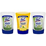 Lysol No-touch Antibacterial Hand Soap Refill Lemon and Aloe Vera - 3-pack