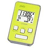 シチズン  デジタル歩数計 peb(ペブ)  TW500−005(グリーン)