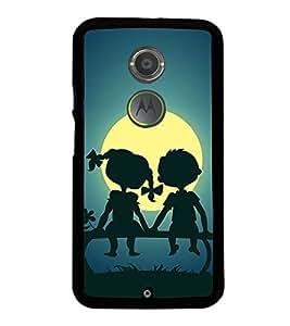 Sunset 2D Hard Polycarbonate Designer Back Case Cover for Motorola Moto X2 :: Motorola Moto X (2nd Gen) :: Motorola Moto X 2014 :: Motorola Moto X+1