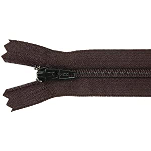 Ziplon Coil Zipper 14 Inch - Black, by Jo-Ann Fabric and Craft Stores. Made of 100% Poly Tape with plastic coil style interlocking nylon teeth. Closed at the bottom zipper with automatic lock.