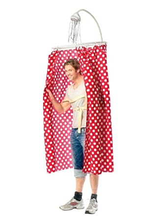 karate kid shower curtain costume