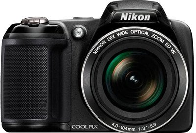 NIKON COOLPIX L330 20.2 MP DIGITAL CAMERA 26X ZOOM 35MM NIKKOR VR LENS A