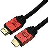 HORIC ハイスピードHDMIケーブル 1.5m イーサネット オーディオリターン 3D フルHD 対応 金メッキ端子 レッド HDM15-894RD