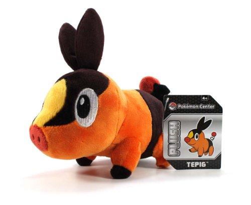 6″ Pokabu Pokemon Center Tepig Plush image